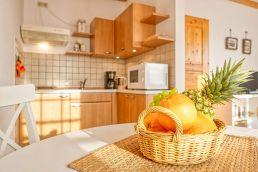 Ferienhaus Gabi Esstisch Küche