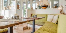 Frühstücksveranda - Sitzecke